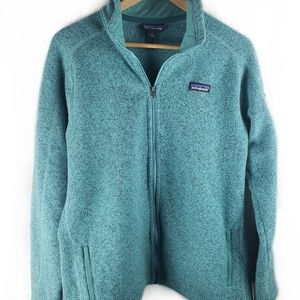 Patagonia women's XL full zip better sweater